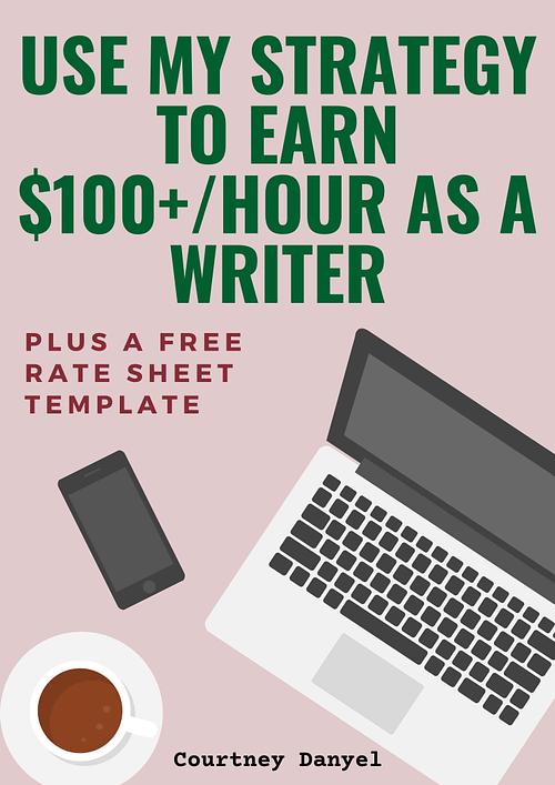 earn as a writer