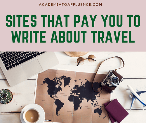 websites that pay you to write about travel