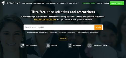 freelance site for academics