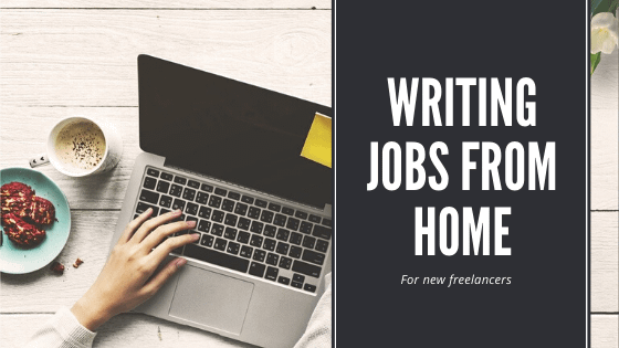 writing jobs from home