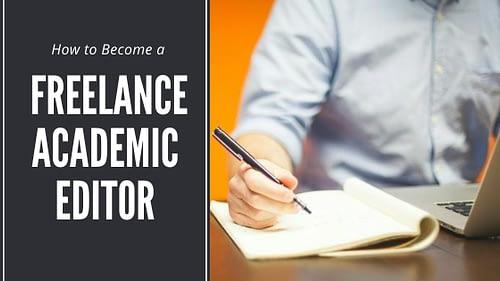 freelance academic editor