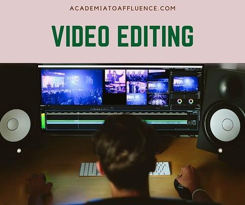 video editing jobs