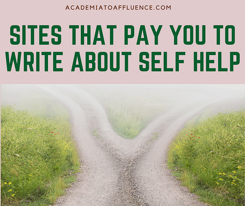 sites that pay you to write about self help
