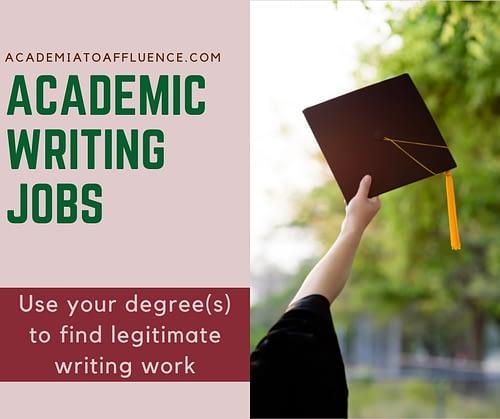 academic writing jobs