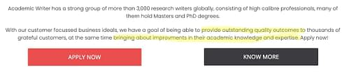 academic writing jobs meaning