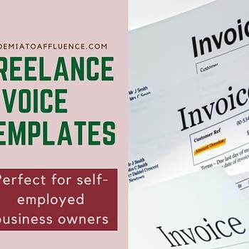 freelance invoice templates