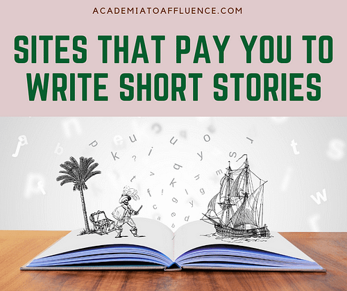 get paid to write short stories