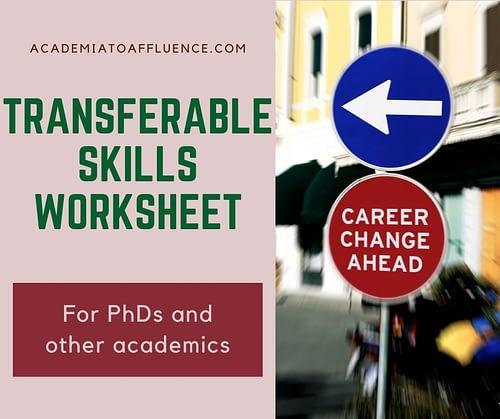 PhD transferable skills